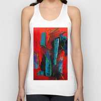 tame impala Tank Tops featuring Tame Before the Storm by Stella Noelle