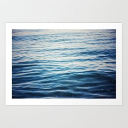 Jewel of the Sea #3 Art Print