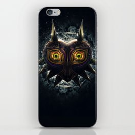 Epic Pure Evil of Majora's Mask iPhone Skin