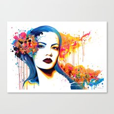 -Dead Glances- Canvas Print