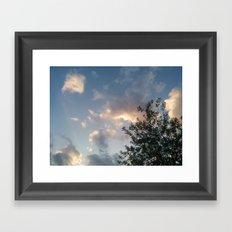 Ground to Sky Framed Art Print