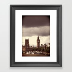Sherlock Lives Framed Art Print