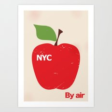 NYC Airliner poster Art Print