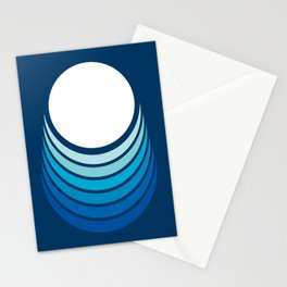 Ocean Crescent Stationery Cards