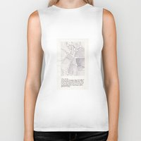 lee pace Biker Tanks featuring Santa Maria della Pace by Patrick Bourgeois