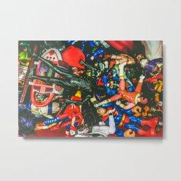 Toy Bin Metal Print