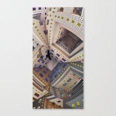 City Cage Canvas Print