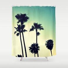 Pacific Coast Hwy Cruisin Shower Curtain