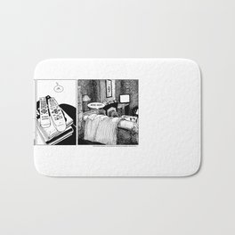 Movie Night Bath Mat