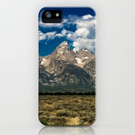 The Grand Tetons - Summer Mountains iPhone Case