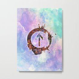 Above The Influence Metal Print