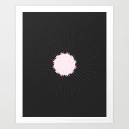 THE MISSING SCARF - Sun 3 Art Print