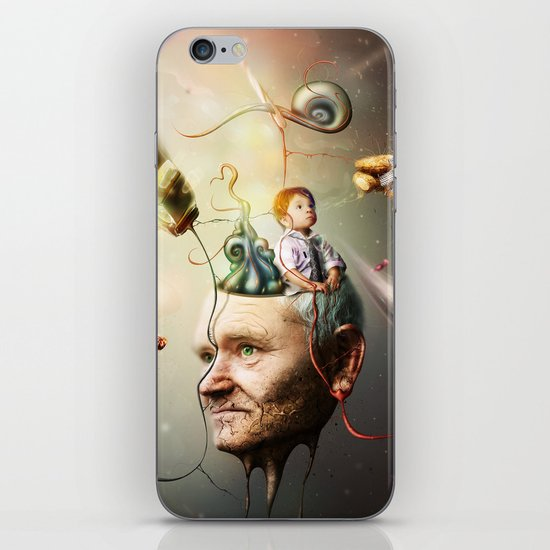 Mental Age iPhone & iPod Skin