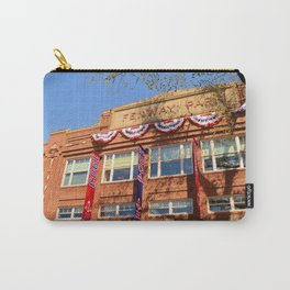 Fenway Spring - Fenway Park in Boston on Opening Day, Red Sox Carry-All Pouch