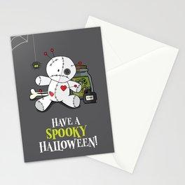 Voodoo doll shelf Stationery Cards