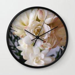 WHITE NARD Wall Clock