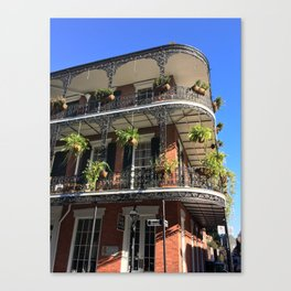 Old World New Orleans Canvas Print