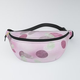 Pink coral dots Fanny Pack