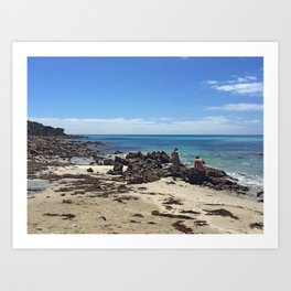Curtis Bay Art Print
