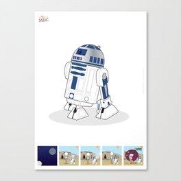 R2 D2 Mec Poster Canvas Print