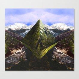 ASPEN DIAMONDS Canvas Print