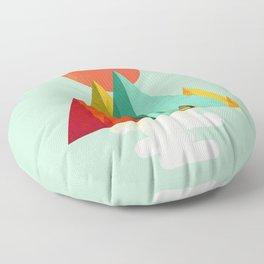 Little Geometric Tipi Floor Pillow