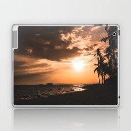 Sunset beach. San Blas, Panama Laptop & iPad Skin