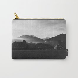 Foggy Switzerland Black&White Carry-All Pouch