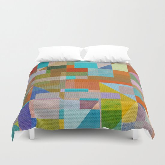 Community Africa Duvet Cover