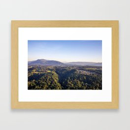 Nature in the Hills  Framed Art Print