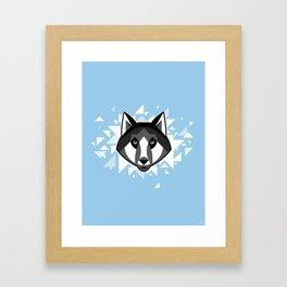 Wolfdog Framed Art Print