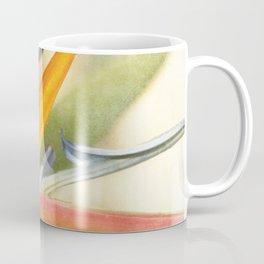 Bird of Paradise - Strelitzea reginae - Tropical Flowers of Hawaii Coffee Mug