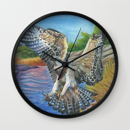 Osprey Overhead Wall Clock