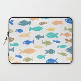 Colorful Fish Laptop Sleeve