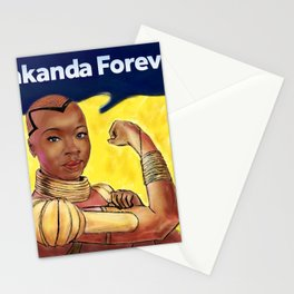 Wakanda Forever Stationery Cards