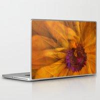 karu kara Laptop & iPad Skins featuring The Beauty of Maturity by Klara Acel