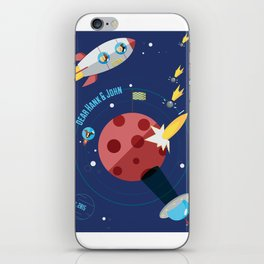 Dear Hank & John Poster iPhone Skin