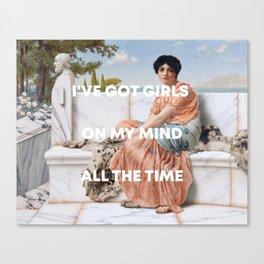 Beatrice Eli + Sappho Canvas Print