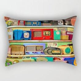 The Golden Age of Radio Rectangular Pillow