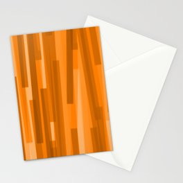 Geometric Brown Gold Painting Stationery Cards