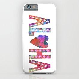 ALOHA - Style A iPhone Case