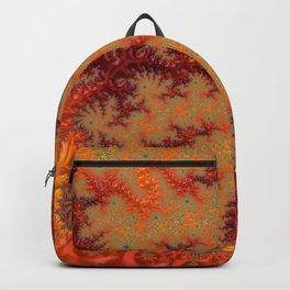 Crimson Alley - Fractal Art Backpack