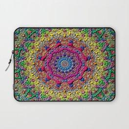background fractals surreal Laptop Sleeve