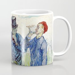 The Drinkers (1890) by Vincent Van Gogh. Coffee Mug