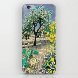 Olive Tree & Gorse Bush iPhone Skin