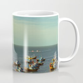 fishing village Coffee Mug