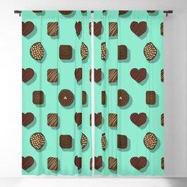Box of Chocolates Pattern Blackout Curtain