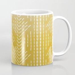Yellow Ombre needlepoint Coffee Mug