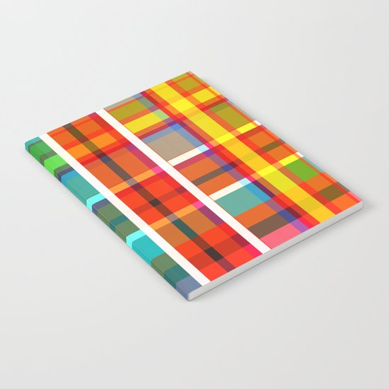 Madras Bright Check Notebook