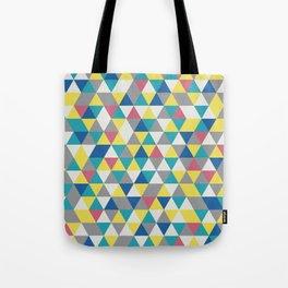 Geometric Triangles Color 2021 Illuminating Aviary Color Harmonies Tote Bag